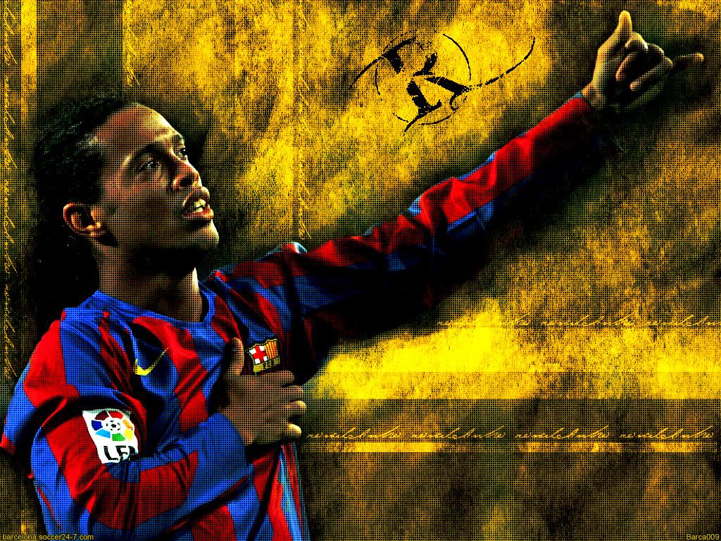 Ronaldinho wallpaper 1024x768
